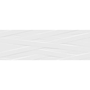 Geo Tiles blancos wandtegels wd.400x1200 blan.bril.rlv geo