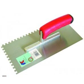 Het gereedschap kaufmann hulpmaterialen x st lijmkam 4mm sg rvs kau