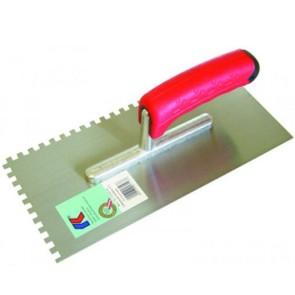 Het gereedschap kaufmann hulpmaterialen x st lijmkam 6mm sg rvs kau
