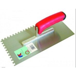 Het gereedschap kaufmann hulpmaterialen x st lijmkam 10mm sg rvs kau