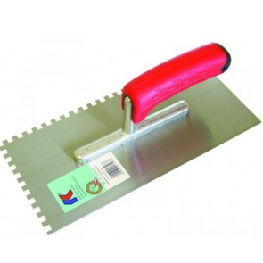 Het gereedschap kaufmann hulpmaterialen x st lijmkam 15mm sg rvs kau