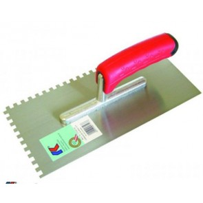 Het gereedschap kaufmann hulpmaterialen x st lijmkam 20mm sg rvs kau