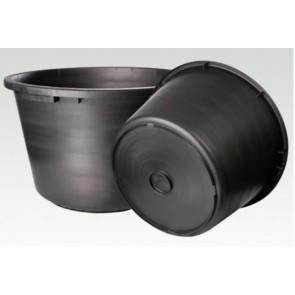 Het gereedschap hg hulpmaterialen x st lijmkuip 45ltr zwart hg