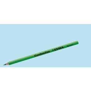 Het gereedschap hg hulpmaterialen x st potlood groen 17cm hg