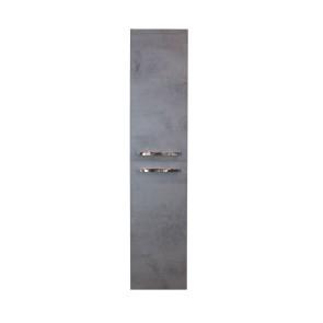 Amador hoge kast 2 deuren 35x160x35cm beton antraciet
