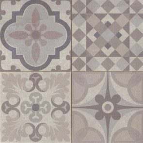 Tegels skyros gris decor 44,2x44,2