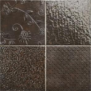 Tegels glint antracita 44,2x44,2