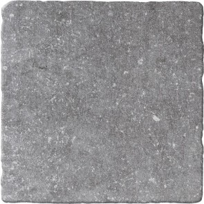 Tegels bluestone gris 20x20 getrommeld