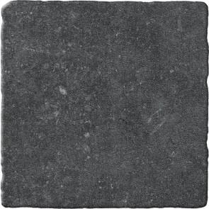 Tegels bluestone noir 20x20 getrommeld