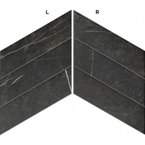 Tegels diamond marquina chevron (l-r) 40x70