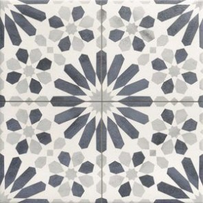 Tegels marrakech blue 44x44