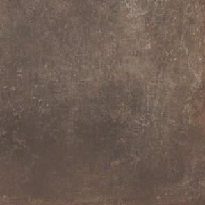 Tegels oxid copper 90x90 rett