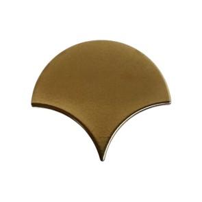 Tegels visschub escama goud 13,4x15