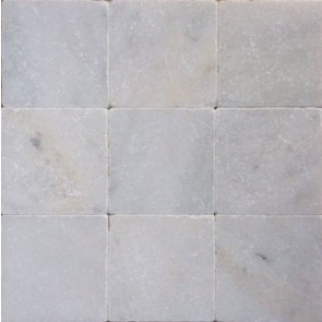 Tegels wit marmer anticato 10x10x1
