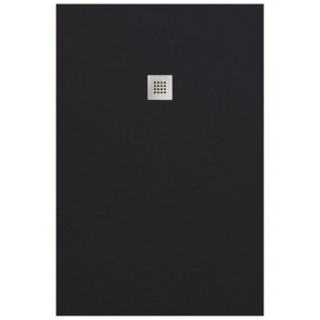 Douchebakken doucheplaat smart slate negro 90x120cm