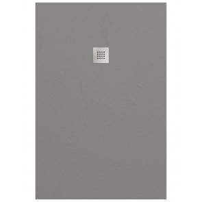 Douchebakken doucheplaat smart slate cemento 90x120cm