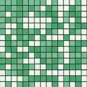 Mozaiek glas mix verde zwembad 32,7x32,7cm
