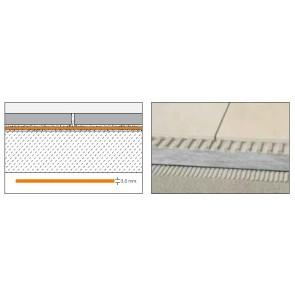 Schluter ditra hulpmaterialen x 25m1 ditradrain (25x1)sl